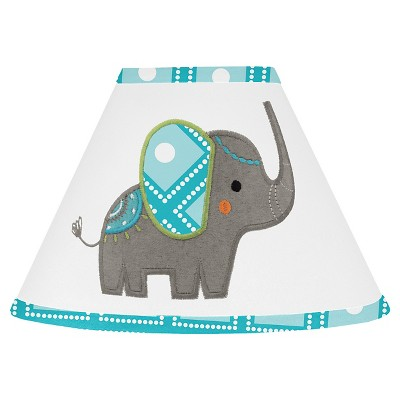 Sweet Jojo Designs Lamp Shade - Mod Elephant
