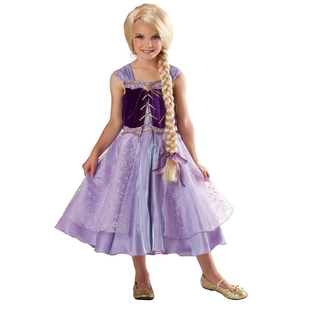 Disney Princess Rapunzel Girls Child Costume S(4-6), Purple