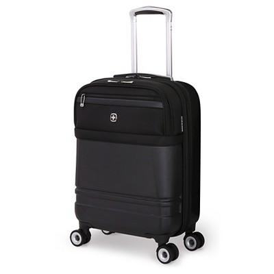 SwissGear Geneva Hybrid 18.5  Carry On Luggage - Black