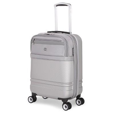 SwissGear Geneva Hybrid 18.5  Carry On Luggage - Gray