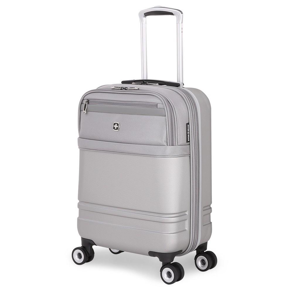 SwissGear Geneva Hybrid 18.5 Carry On Luggage - Gray, Silver