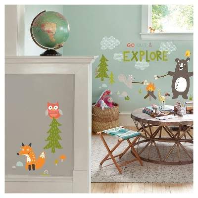 Paper Riot Forest Play Jumbo Wall Decals