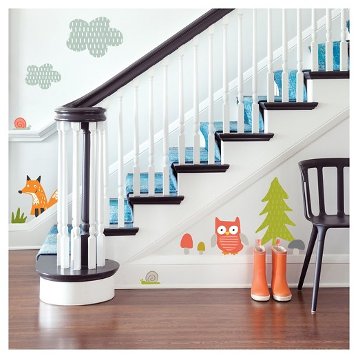 Target Star Wall Decor : Paper riot forest play jumbo wall decals target