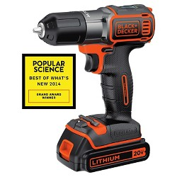 BLACK+DECKER™ Autosense Power Drill - Orange