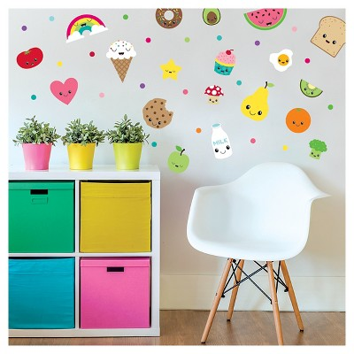 Paper Riot Food Small Playbook Wall Decals