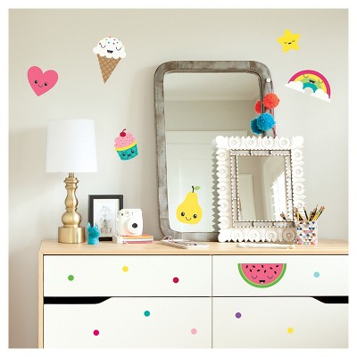 Paper Riot Food Small Playbook Wall Decals Part 27