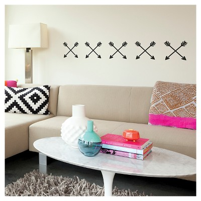 paper riot arrows small playbook wall decals