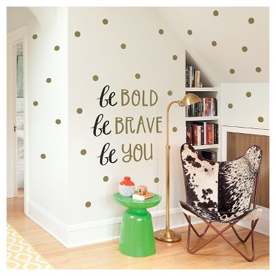 Paper Riot Be Youthful Small Playbook Wall Decals