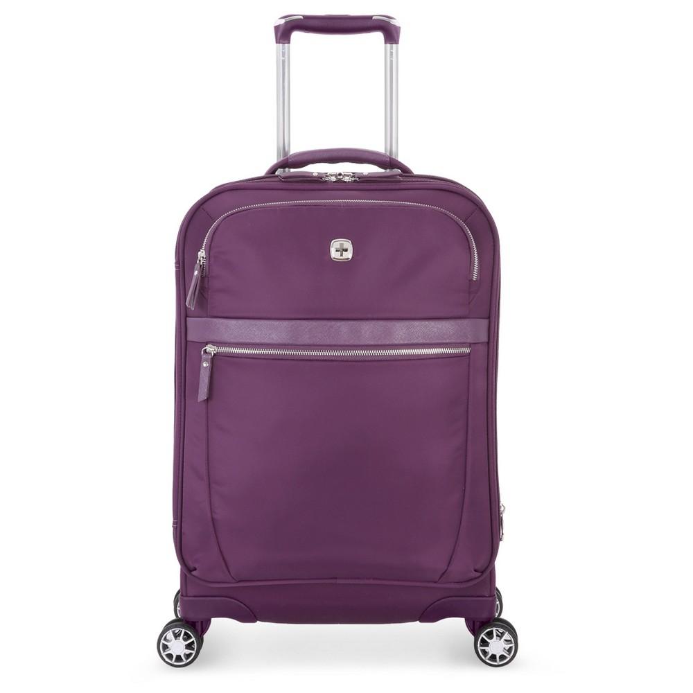 SwissGear Geneva 20 Carry On Luggage - Purple