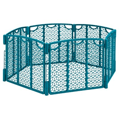 Evenflo® Versatile Play Space Gate - Deep Teal