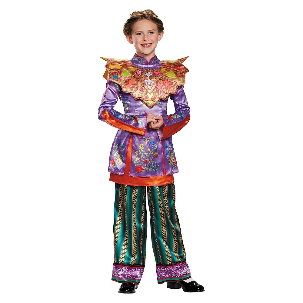 Alice in Wonderland: Through the Looking Glass Deluxe Hat Costume - XL, Girls, Multicolored