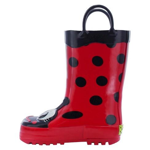 Western Chief Ladybug Rain Boot(Girls') -Lucy the Ladybug