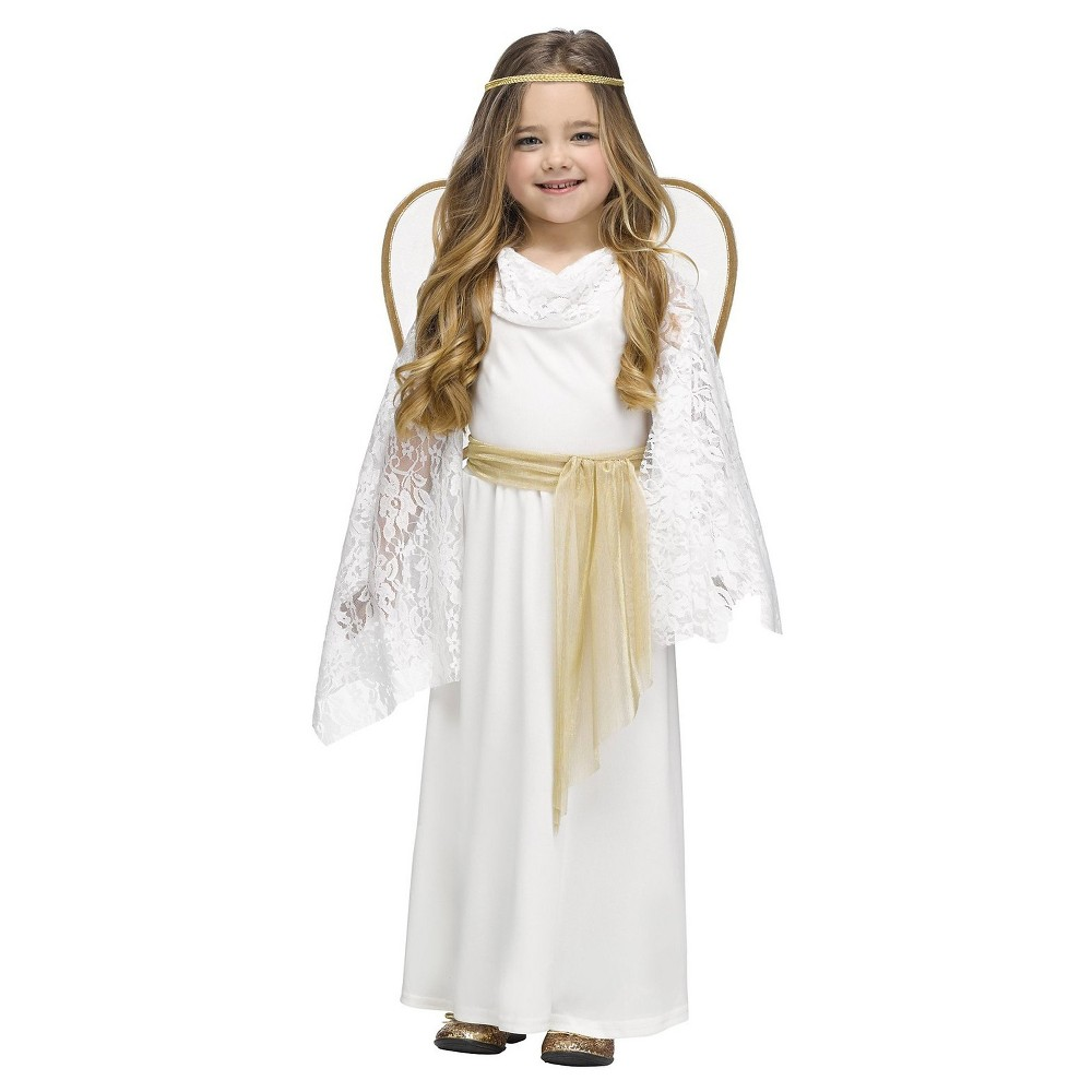 Girls' Angelic Miss Toddler Costume - (3T-4T), Multicolored