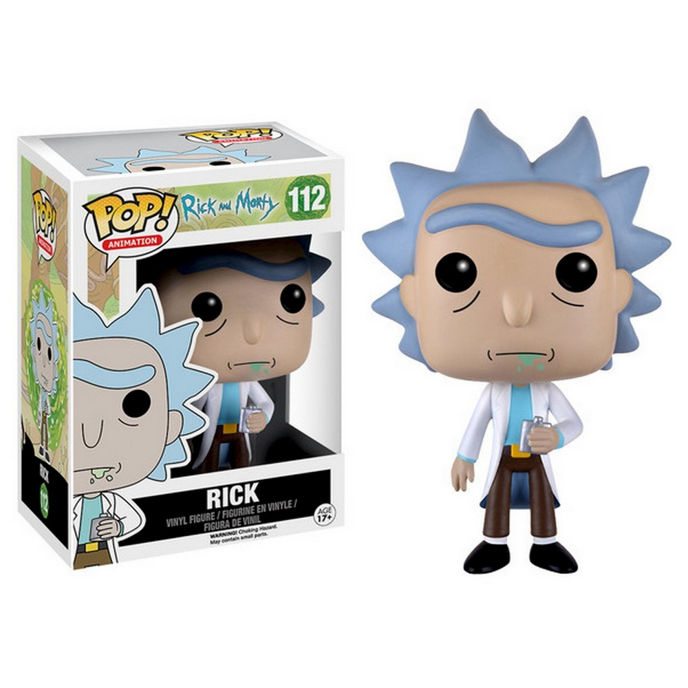 Pop! Animation: Rick & Morty - Rick