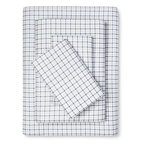 Performance Microfiber Plaid Sheet Set - Eddie Bauer® - image 1 of 1