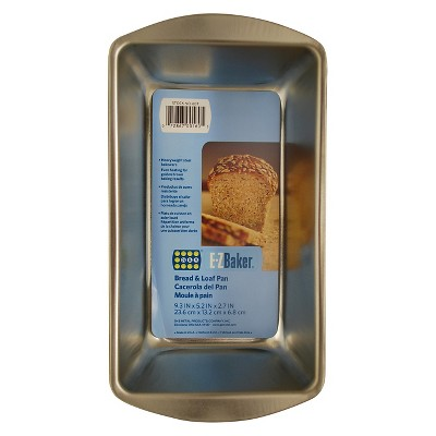 EZ Baker 9 x 5 Inch Loaf Pan - Gray