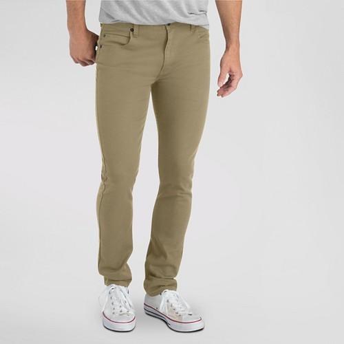 Dickies Men's Slim Fit Skinny Leg 5-Pocket Pant Tan 26X32, British Khaki