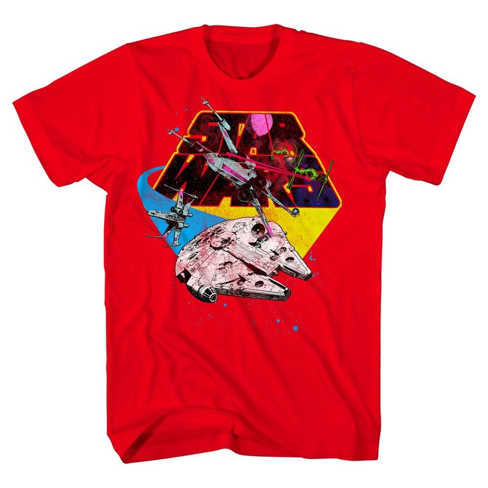 Boys Star Wars T-Shirt - Red XL