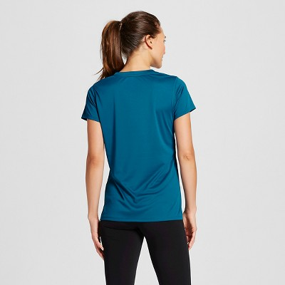 Women's Tech Tee Blue Oasis S - C9 Champion, Oasis Blue