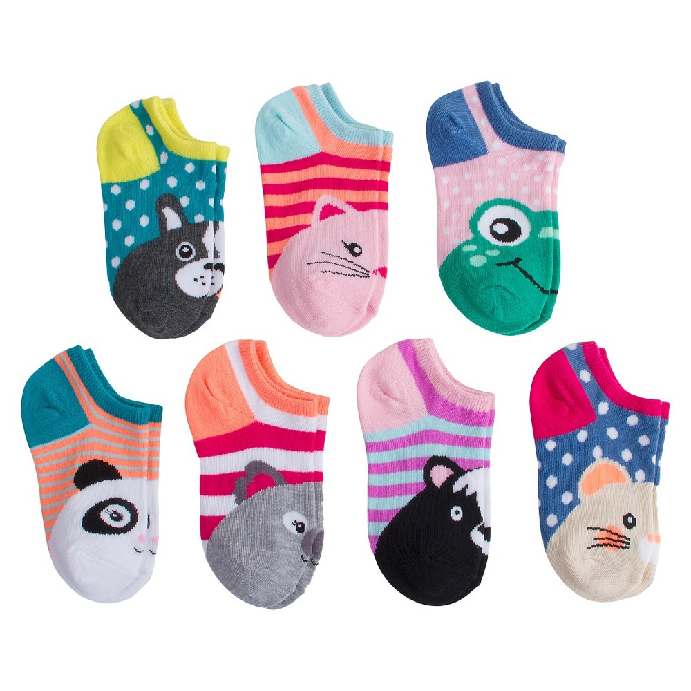 Girls Casual Socks 5.5-8.5 - Cat & Jack, Size: Small, Multicolored