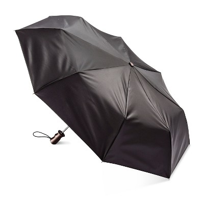 Totes® Stick Umbrella With Never Wet Fabric - Black One Size