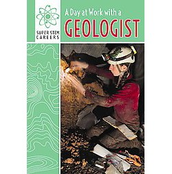 Day at Work With a Geologist (Vol 2) (Reprint) (Paperback) (Amelia Letts)