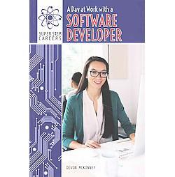 Day at Work with a Software Developer (Vol 4) (Reprint) (Paperback) (Devon McKinney)