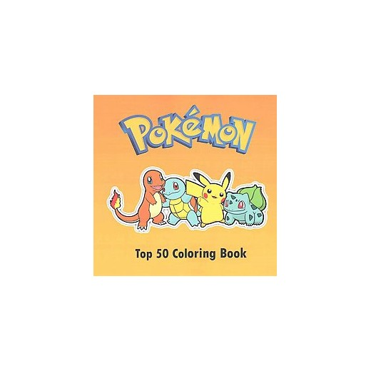 top 50 pokemon coloring book paperback - Pokemon Coloring Book