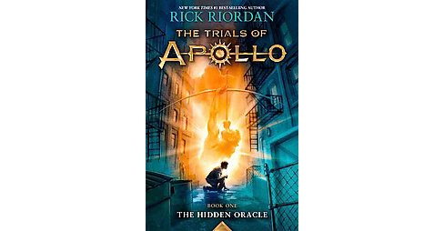 Hidden Oracle (Signed) (Hardcover) (Rick Riordan) - image 1 of 1