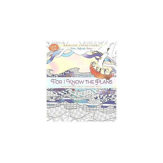 For I Know The Plans Adult Coloring Book Inspirational