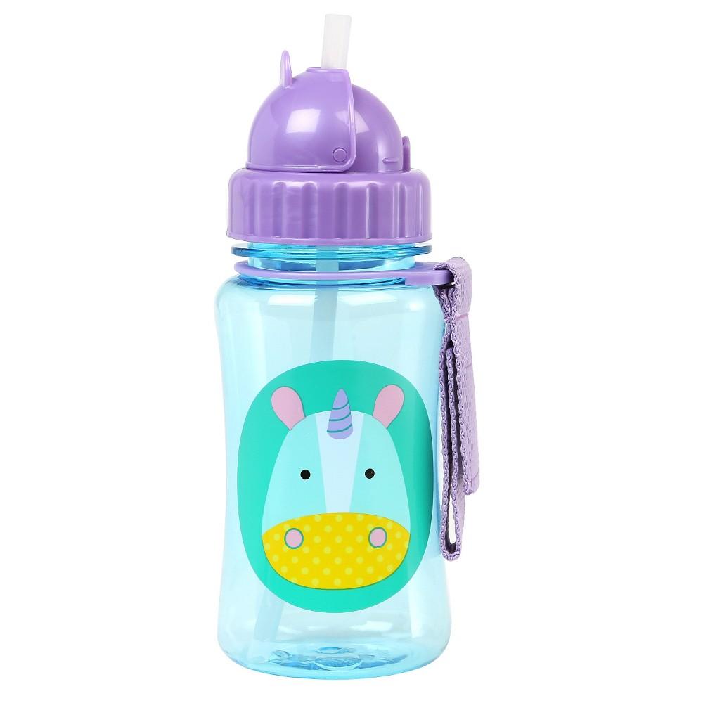 Skip Hop Zoo Straw Bottle - Unicorn, Multi-Colored