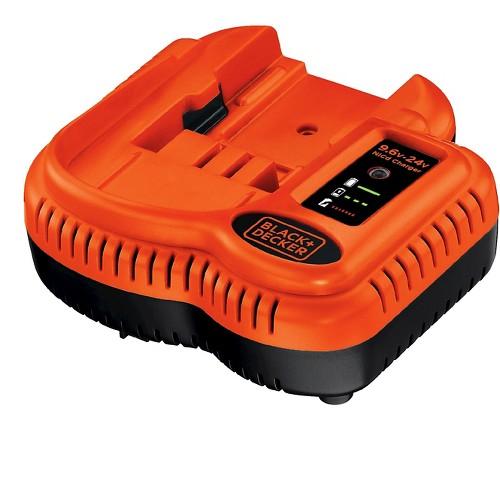 Black+decker 9.6V-18V NiCad Rechargeable Battery Charger - Black