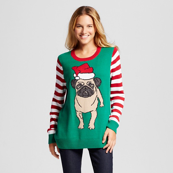 ugly pug sweaters 15 ugly christmas sweaters pretty my party 2880