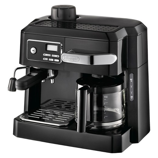 Coffee Maker For Coffee And Espresso : DeLonghi 3-in-1 Combination Espresso and Coffee Maker - Black : Target