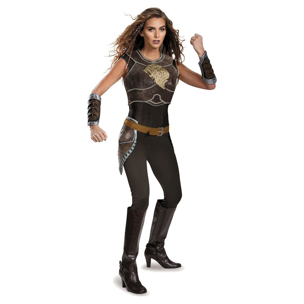 Warcraft Garona Deluxe Womens Costume Large, Multicolored