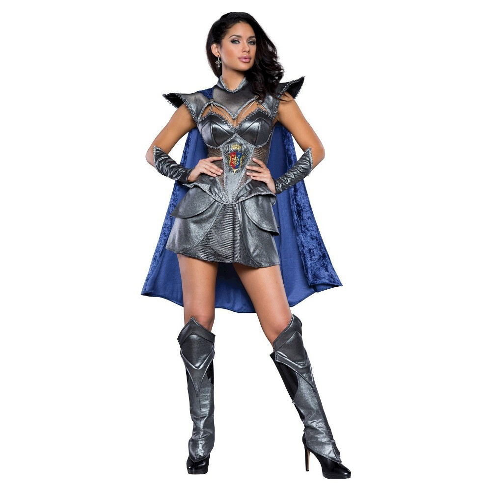 Womens A Knight to Remember Costume Large, Multicolored