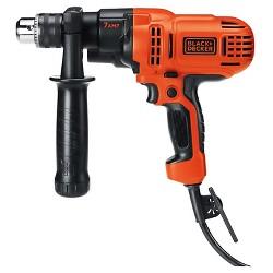 "BLACK+DECKER™ 7A 1/2"" VSR Power Drill - Orange"