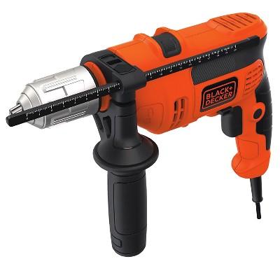 BLACK+DECKER™ 1/2  2 Speed VSR Hammer Power Drill -Orange
