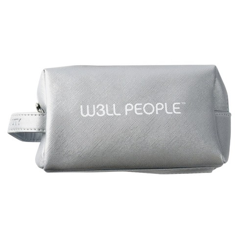 W3LL PEOPLE Excursionist Cosmetic Makeup Bag Silver - image 1 of 1