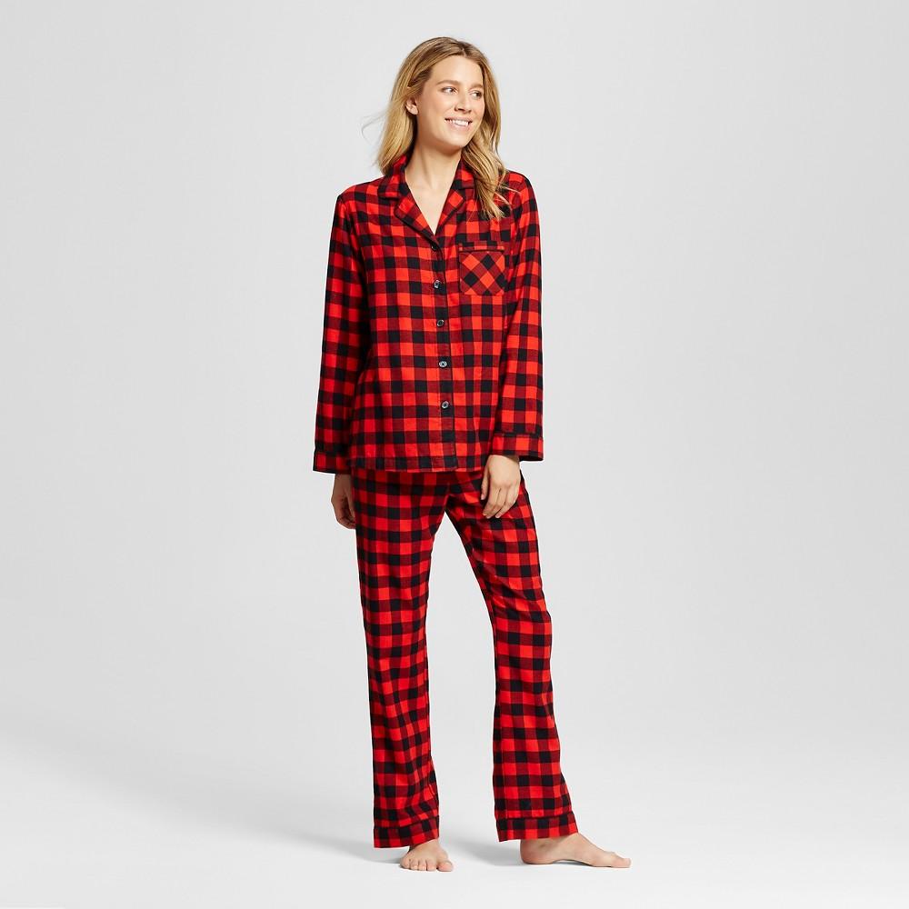 Women's Buffalo Plaid Pajamas Red M - $24.99