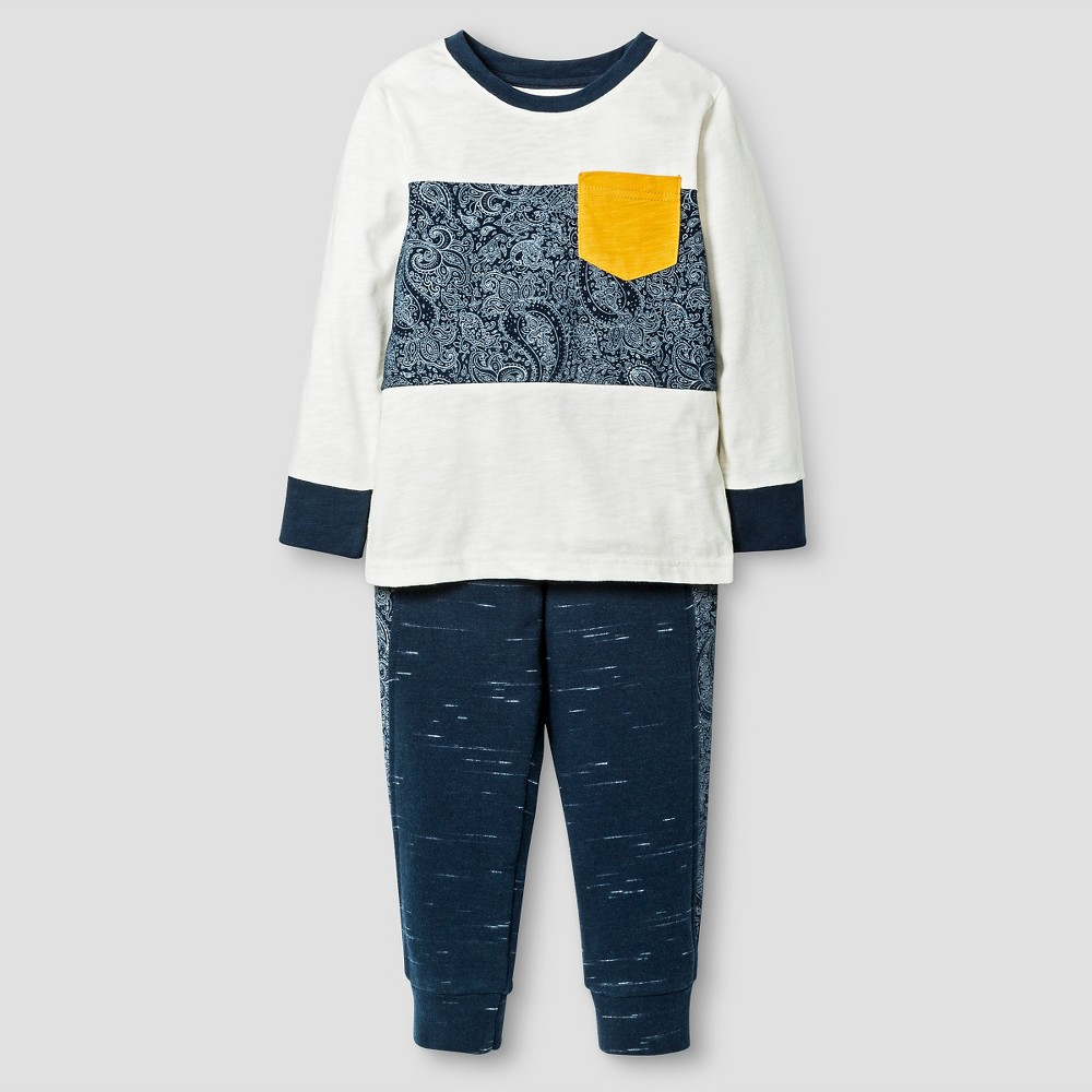 Toddler Boys' Top And Bottom Set Shell 6 – Genuine Kids from OshKosh, Toddler Boy's, White