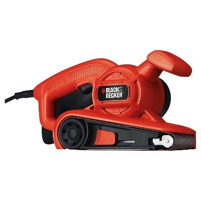 BLACK+DECKER™ 3  x 18  Belt Power Sander - Orange