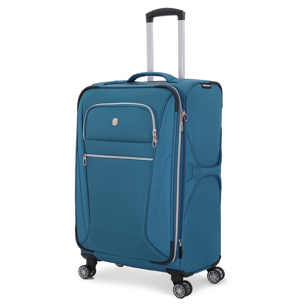 SwissGear Checklite 24 Luggage - Teal (Blue)