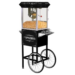 Elite Deluxe Old Fashioned Popcorn Trolley
