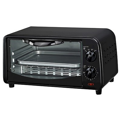 Courant 2-Slice Toaster Oven - Black
