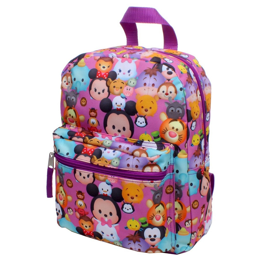 Girls Tsum Tsum 12 Mini Backpack, Black