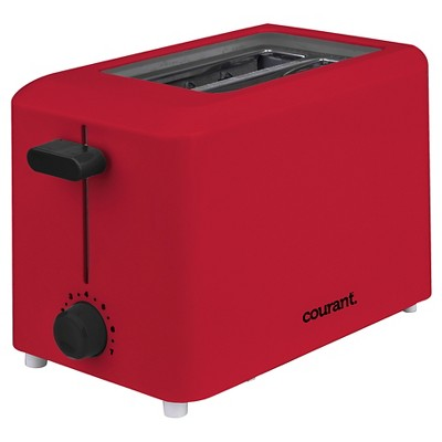 Courant 2-Slice Toaster - Red