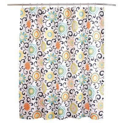 Pom Pom Shower Curtain (72 x72 )- Waverly