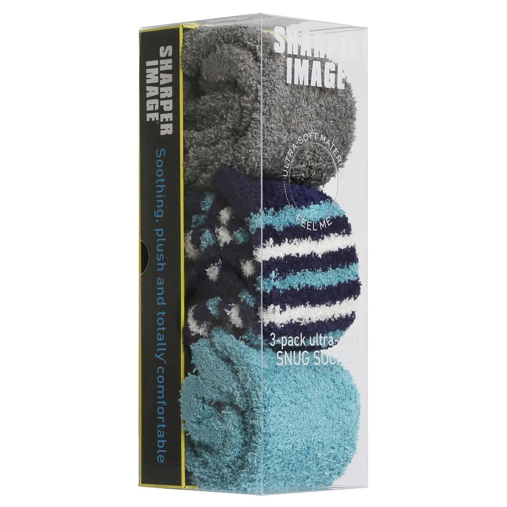 Sharper Image - 3 pack Sock, Adult Unisex, Pink