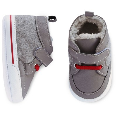 Baby Boys' 3/4 Sneaker Cat & Jack™ - Grey 0-3M